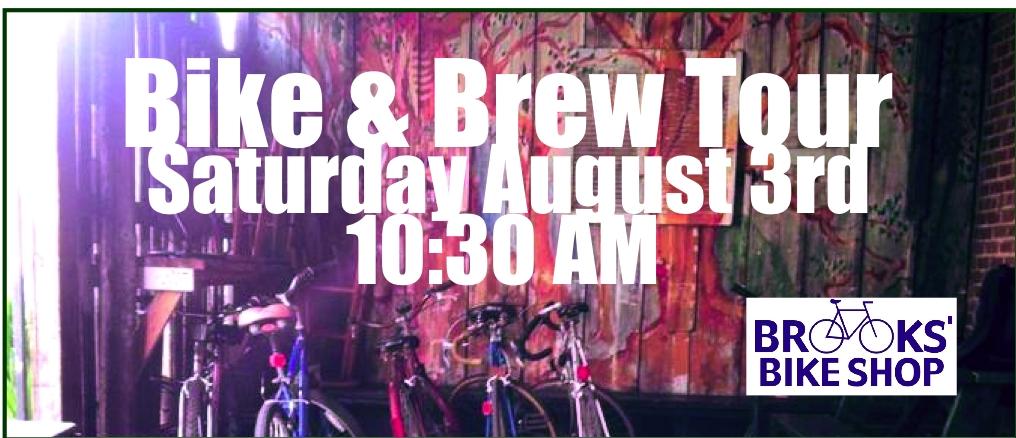 Bike & Brew Tour - Brooks' Bike Shop