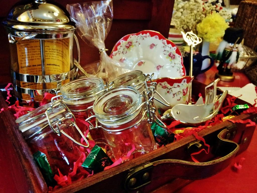 Tea Lovers Gift Basket At The English Tea Room