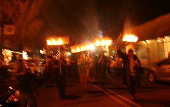 Twelfth Night Feast of Fools & Street March 2013 - Fools of Misrule