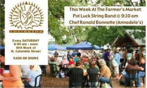 This Week At The Covington Farmer's Market 4-23-14
