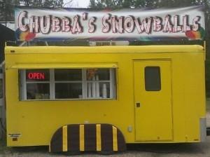 Chubba's Snowballs at the Covington Farmer's Market this Saturday