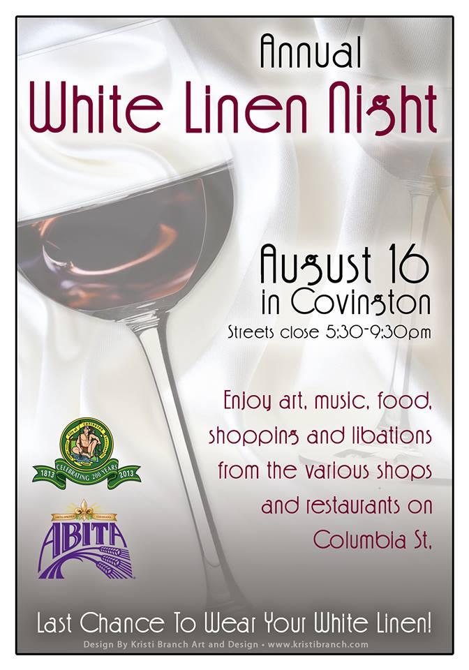 White Linen Night 2014