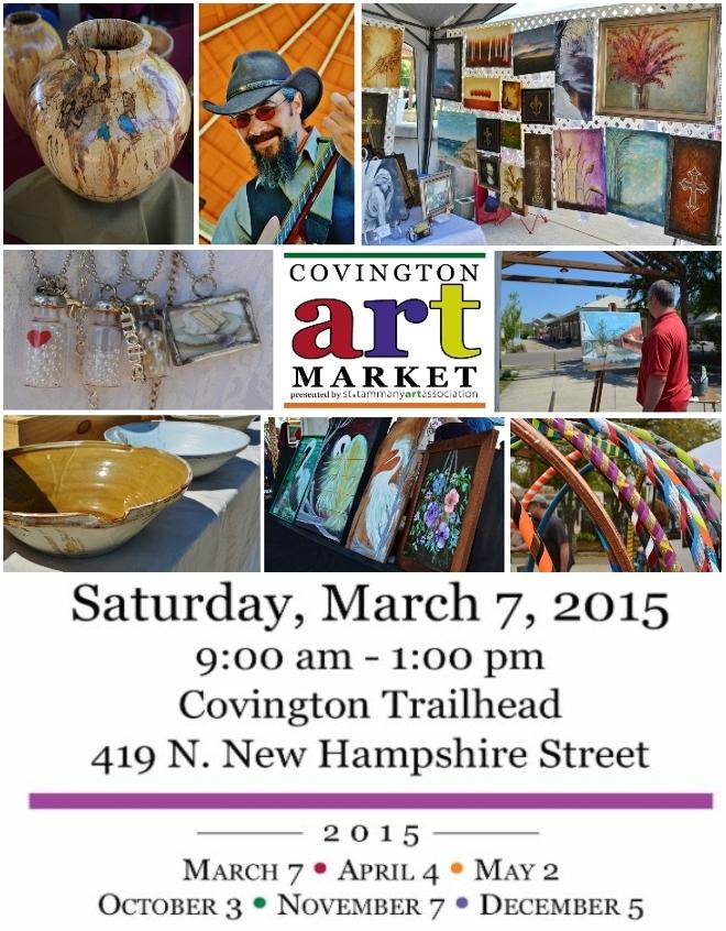 Cov Art Market flier March 2015