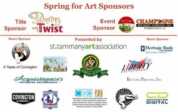 Spring for Art 2015 sponsors