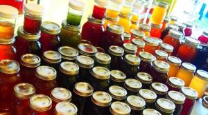 A Rainbow of kombucha from Kombucha Girl Living Beverages