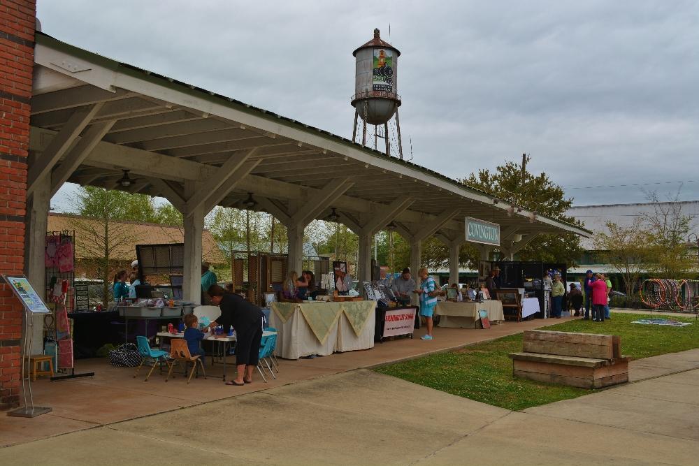 STAA's Covington Art Market April 5th, 2014 at the Covington Trailhead