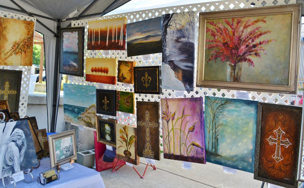 K Studio by Katie Northey Gruntz at the Covington Art Market May 2014
