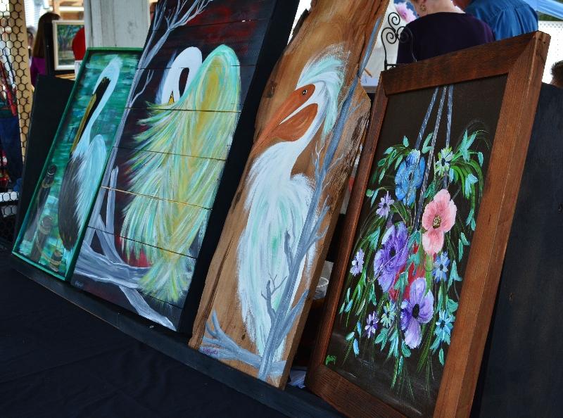 aCovington Art Market March 1, 2014  Original Paintings by Kenny Passauer