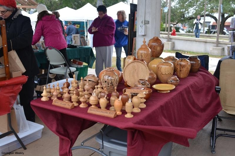 Holiday Covington Art Market 12-7-13