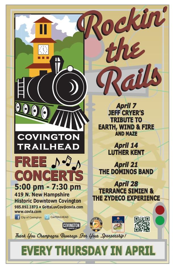 rockin the rails april 2016