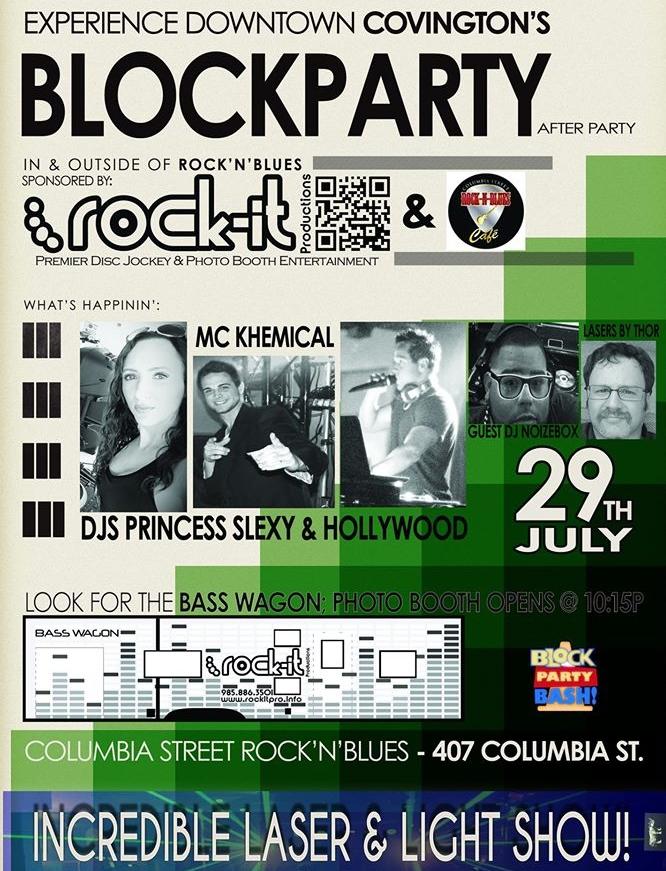 csrb block party 72816