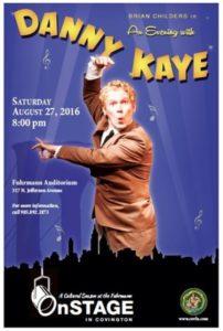 cov onstage danny kaye